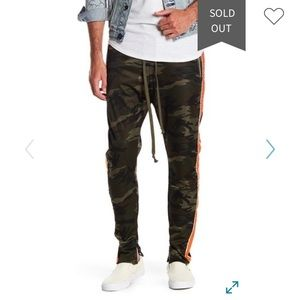 American Stitch Camouflage Camo Track Pants